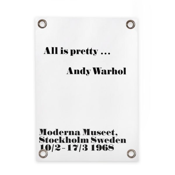 242001-SIPP-Outdoor-Tuinposter-All-is-pretty-Andy-Warhol