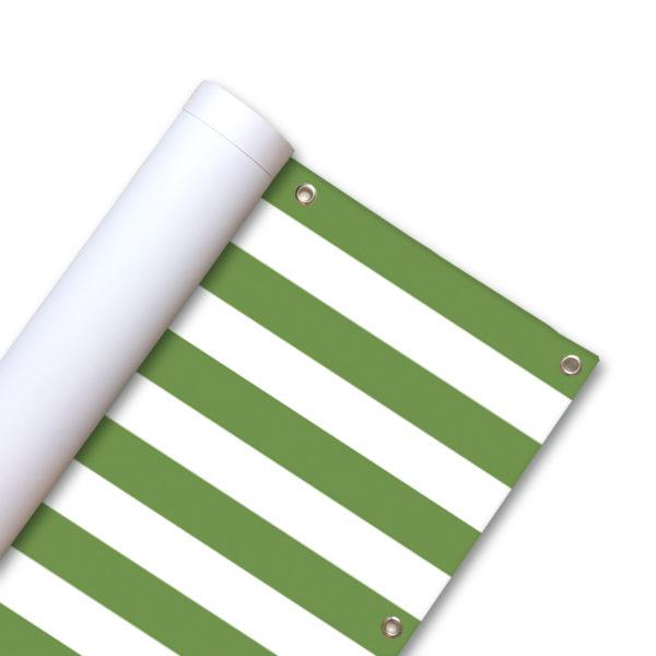 84824-Balkonscherm-Gestreept-olijf-groen.jpg