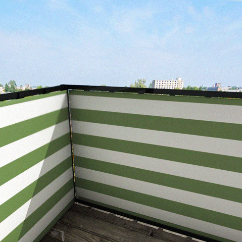 Balkonafscheiding-gestreept-olijfgroen.jpg