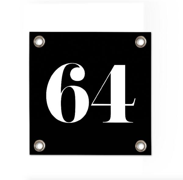Huisnummer-64-vierkant-zwart-sipp-outdoor.png