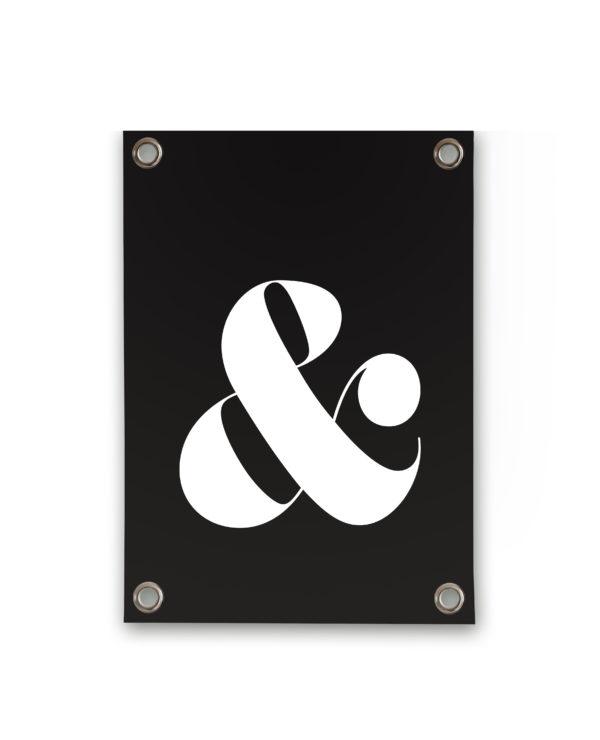 242023 SIPP Outdoor Tuinposter & teken zwart wit